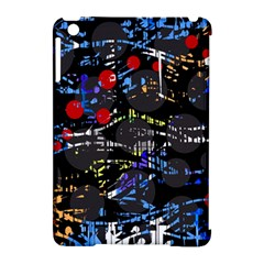 Blue confusion Apple iPad Mini Hardshell Case (Compatible with Smart Cover)