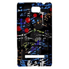 Blue confusion HTC 8S Hardshell Case