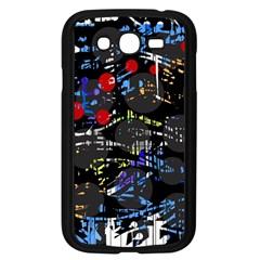 Blue confusion Samsung Galaxy Grand DUOS I9082 Case (Black)