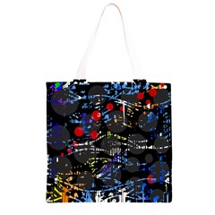 Blue confusion Grocery Light Tote Bag