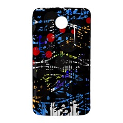 Blue confusion Nexus 6 Case (White)