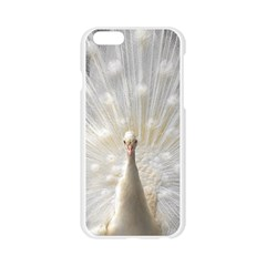 3d White Peacock Feather Apple Seamless iPhone 6/6S Case (Transparent)