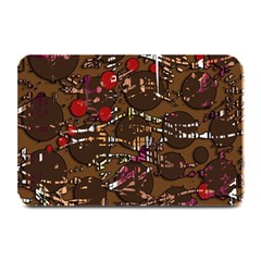 Brown confusion Plate Mats