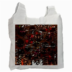 Brown Confusion Recycle Bag (two Side)