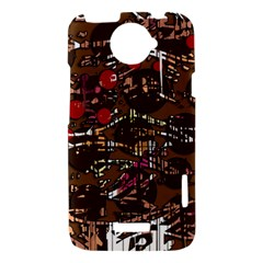 Brown confusion HTC One X Hardshell Case