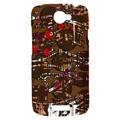 Brown confusion HTC One S Hardshell Case