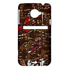 Brown confusion HTC Evo 4G LTE Hardshell Case