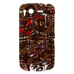 Brown confusion HTC Desire S Hardshell Case