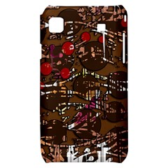 Brown confusion Samsung Galaxy S i9000 Hardshell Case