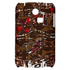 Brown confusion Samsung S3350 Hardshell Case
