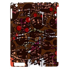 Brown confusion Apple iPad 2 Hardshell Case (Compatible with Smart Cover)