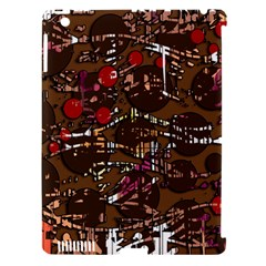 Brown confusion Apple iPad 3/4 Hardshell Case (Compatible with Smart Cover)