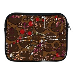Brown confusion Apple iPad 2/3/4 Zipper Cases