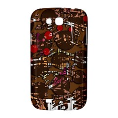 Brown confusion Samsung Galaxy Grand GT-I9128 Hardshell Case