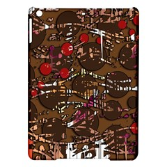 Brown confusion iPad Air Hardshell Cases