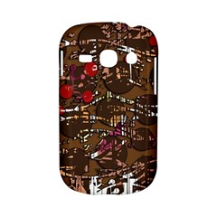 Brown confusion Samsung Galaxy S6810 Hardshell Case
