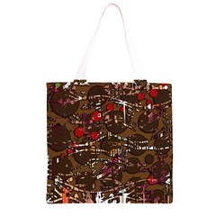 Brown confusion Grocery Light Tote Bag