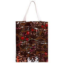 Brown confusion Classic Light Tote Bag