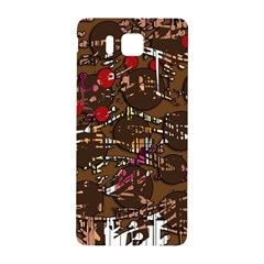 Brown confusion Samsung Galaxy Alpha Hardshell Back Case