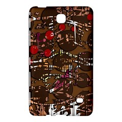 Brown confusion Samsung Galaxy Tab 4 (8 ) Hardshell Case