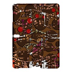 Brown confusion Samsung Galaxy Tab S (10.5 ) Hardshell Case