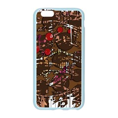 Brown confusion Apple Seamless iPhone 6/6S Case (Color)