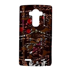 Brown confusion LG G4 Hardshell Case