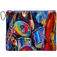 Abstract Paintings Wallpapers Canvas Cosmetic Bag (XXXL)