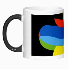 Abstraction Banana Morph Mugs
