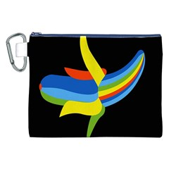 Abstraction Banana Canvas Cosmetic Bag (XXL)