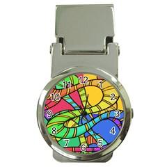 Abstrak Money Clip Watches