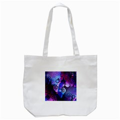 Midnight In My Mind Tote Bag (White)