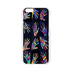 Art With Your Hand Apple Seamless iPhone 6/6S Case (Transparent)