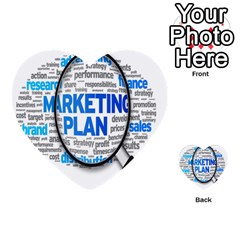 Article Market Plan Multi Purpose Cards (heart)