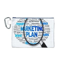 Article Market Plan Canvas Cosmetic Bag (M)