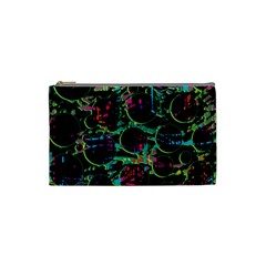 Graffiti style design Cosmetic Bag (Small)