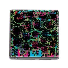 Graffiti style design Memory Card Reader (Square)