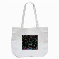 Graffiti style design Tote Bag (White)