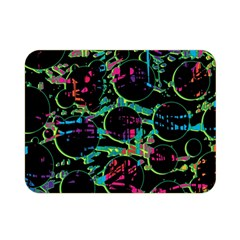 Graffiti style design Double Sided Flano Blanket (Mini)