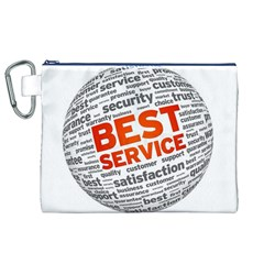 Best Service Canvas Cosmetic Bag (XL)