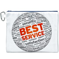 Best Service Canvas Cosmetic Bag (XXXL)