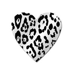 Cheetah Heart Magnet