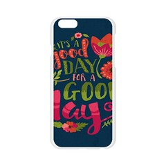 C mon Get Happy With A Bright Floral Themed Print Apple Seamless iPhone 6/6S Case (Transparent)