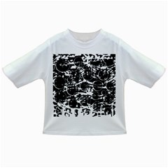 Black and white confusion Infant/Toddler T-Shirts