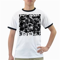 Black and white confusion Ringer T-Shirts