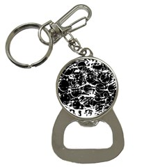 Black and white confusion Bottle Opener Key Chains