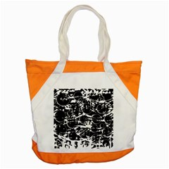 Black and white confusion Accent Tote Bag