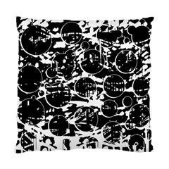 Black and white confusion Standard Cushion Case (Two Sides)