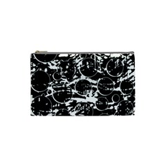 Black and white confusion Cosmetic Bag (Small)