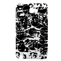 Black and white confusion Samsung Galaxy Note 1 Hardshell Case